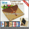 For ipad mini case with belt, Jeans styles case for ipad mini