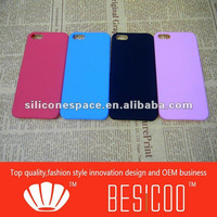 New arrival of plastic rubber paint case for iPhone5