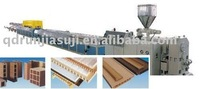 qingdao wpc wood plastic composite floor extrusion mould machinery