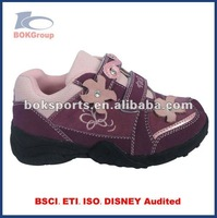 hiking shoes for girls pu upper tpr outsole