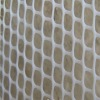 White Hexagonal Plastic Net