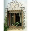 Decorative Iron Window Grill Designs with Luxury Top