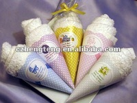 Baby Shower Ice Cream Towel Favors