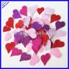 2012 hot sellig self-adhesive foam heart shapes giltter stickers in 4 colors amd 2 sizes