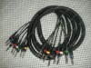 "professional assembled cable with 1/4"" Stereo JACK male, 8 fanout, audio Snake cable"