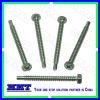 hex head pozidriv wood screw with cone end (non standard fastener)