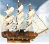 New Detailed Ornamental Model Ship