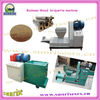 Wood briquette extruder machine