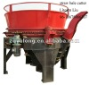 straw bale crusher (crush 2.2m big bale)