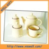 4 pcs set Ceramic tea set