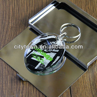 New double side acrylic key chain tour souvenirs