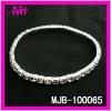 wholesale silver rhinestone chain link bracelets