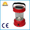 RESUN portable solar camping lantern with cellphone charger
