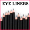 Eyeliner eyebrow pencil black waterproof W108
