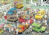 Lively automobile dreamworks puzzles murals