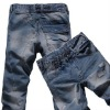 Latest Retro style Harem man cutting jeans