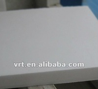 white moulded acetate sheet