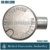 Electric Galvanized Malleable Iron Conduit Fitting Circular Box one way type