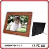 9.7 inch Wooden like Full Function Digital photo Frame