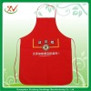 Red apron kitchen eco friendly fabric