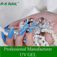 R S NAIL ONE STEP COLORED UV GEL POLISH