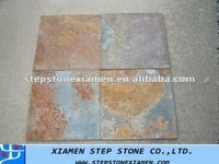 Rust cultual slate for floor and wall decoration