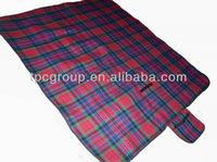tartan picnic mats
