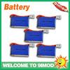 9imod Made 3.7V 280Mah lipo Battery for Walkera QR Ladybird,V2,Mini CP