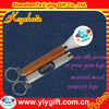 China customized logo projector keyring for promotion gift