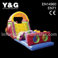 inflatable obstacles course for group activities