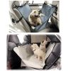 Folding Car Seat Pet Hammock with two pocket