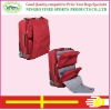 Fashion Nylon Trolley Luggage Bag With Wheels
