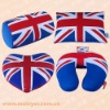 2012 UK FLAG PRINTED TRAVEL NECK PILLOW