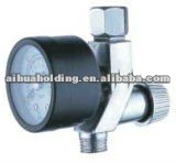 Air Adjusting Valve Regulator with Gauge AH-06