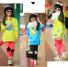 2012fashionable girl hoodie autum new design Hooded fleeces guard coat