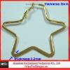 2011 latest metal big earrings
