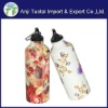 2012 popular 600ml stainless steel drink water sports bottle