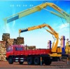 knuckle boom truck-mounted crane 5ton