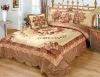velvet handmade patchwork comforter set