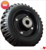 solid rubber wheel/tyre tire---Flat Free  tyre