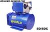 Welder generator set-diesel/gasoline