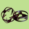 Inner curved arc oblate ring  packing