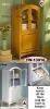 Wood furniture-Bathroom cabinet w/hamper