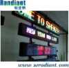 Indoor LED scrolling message tag