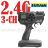 RC Model Accessory 3CH Transmitter 2.4G