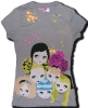 GIRL'S T-SHIRT, TOP TEES,FASHIONS, COTTON SHIRT,PRINTED GARMENTS, LEISURE WEAR