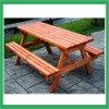 PATIO WOODEN PICNIC TABLE and CHAIR