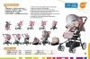 Wholsale two hands folded baby pram