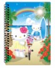 2013 most popular 3D Notebook with clearly lenticular