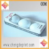 3 pcs golfball box with good quality